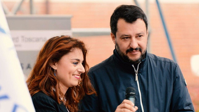 Salvini Matteo, Ceccardi Susanna
